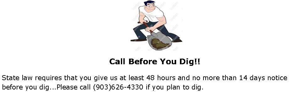 Call Before Digging